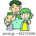 ファミリー 親子 家族のイラスト 40233498