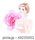 女性 ビューティー ケアのイラスト 40235052