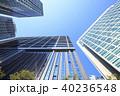 晴れ 高層ビル ビルの写真 40236548