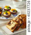 パウンドケーキとマンゴータルトレット 40237726