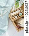 裁縫 裁縫箱 手芸の写真 40238927