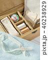 裁縫 裁縫箱 手芸の写真 40238929