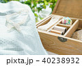 裁縫 裁縫箱 手芸の写真 40238932