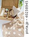 裁縫 裁縫箱 手芸の写真 40238945