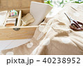 裁縫 裁縫箱 手芸の写真 40238952