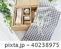 裁縫 裁縫箱 手芸の写真 40238975