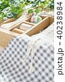 裁縫 裁縫箱 手芸の写真 40238984