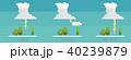 くも クラウド 雲のイラスト 40239879