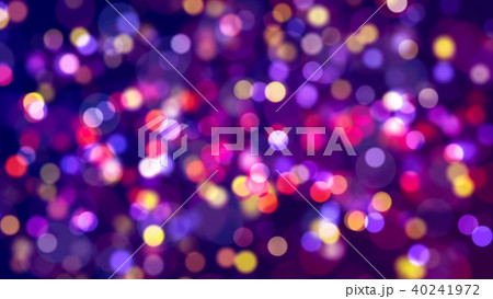 Multicolored lights with bokeh. Abstract background. 40241972