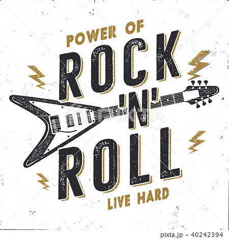 vintage hand drawn rock n roll poster rock music poster hard music