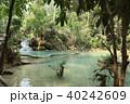ラオス ルアンパバーン 河川の写真 40242609