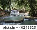 ラオス ルアンパバーン 滝の写真 40242625