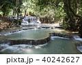 ラオス ルアンパバーン 滝の写真 40242627