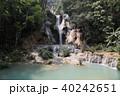 ラオス ルアンパバーン 滝の写真 40242651