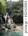 ラオス ルアンパバーン 滝の写真 40242665