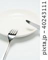 ナイフ フォーク 食器の写真 40243111