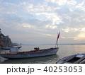 バラナシ 船 朝の写真 40253053