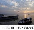 バラナシ 船 朝の写真 40253054