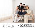 三世代家族 入学式 家族写真 イメージ 40255331