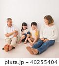 シニア 孫 家族 ファミリー イメージ 40255404