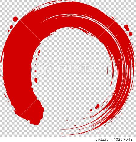 circle, round, calligraphy writing 40257048