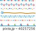 アイコン マリン 海のイラスト 40257256