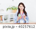 女性 スマホ スマートフォンの写真 40257612