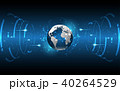 Global network connection World map technology 40264529