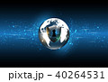 Global network connection World map technology 40264531