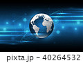 Global network connection World map technology 40264532