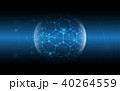 Global network connection cyber technology 40264559