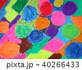 クレヨンで塗りつぶす スクラッチ技法準備 40266433