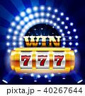カジノ カジノの スロットのイラスト 40267644