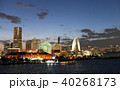 横浜 みなとみらい 赤レンガ倉庫の写真 40268173