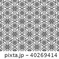 シームレス パターン 柄のイラスト 40269414