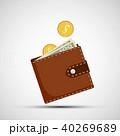通貨 ベクタ ベクターのイラスト 40269689