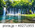 《静岡県》白糸の滝・清流《スローシャッター》 40271955