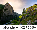 road in Canyon of Trascau mountains 40273060
