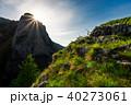 sunrise in Canyon of Trascau mountains 40273061