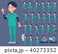 男性 医者 外科医のイラスト 40273352