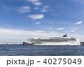 大型客船 横浜港 ノルウェージャンジュエルの写真 40275049
