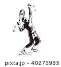 テニス ラケット ベクターのイラスト 40276933
