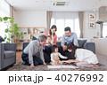 人物 家族 三世代の写真 40276992