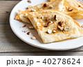 クレープ デザート パンケーキの写真 40278624