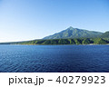 利尻島 海 利尻富士の写真 40279923