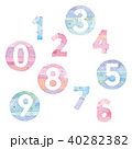 数字 数 文字のイラスト 40282382