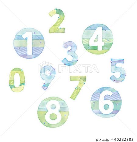 数字のイラスト 40282383