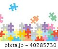 パズルのフレーム 40285730