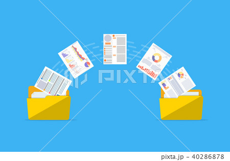 Files transfer. Documents management. 40286878