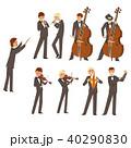 クラシカル クラシック 古典的のイラスト 40290830